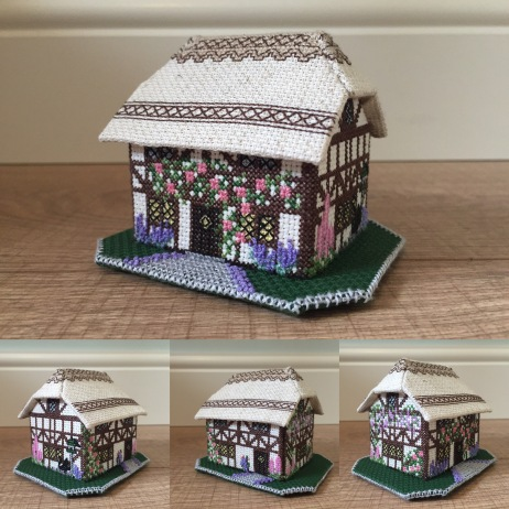 'Foxglove Cottage' designed by Meg Evershed for the Nutmeg Company