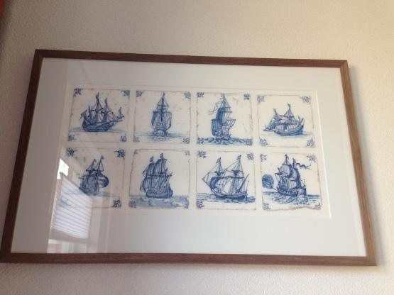 'Antique Dutch Tiles' designed by Thea Gouverneur