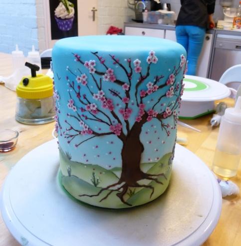 Spring Lantern cake (Kim Wiltjer workshop)
