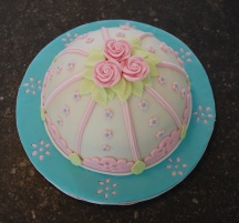 Cath Kinston inspired cake