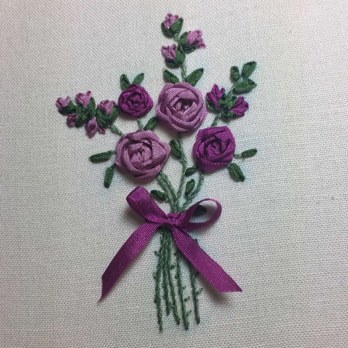 Silk Ribbon Embroidery - a first attempt