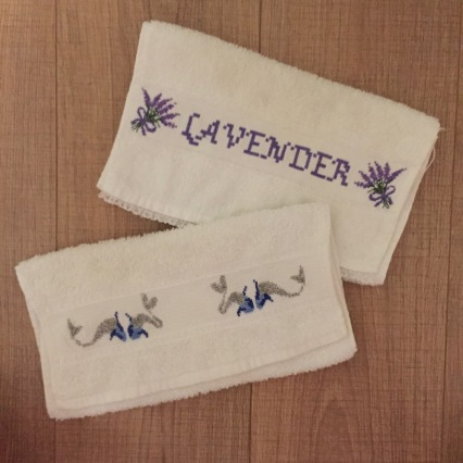 Lavender and Gaudi fish designed by me