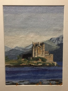 Eilean Donna Castle designed by Hilda Martin for Cross Stitch Collection March 1998