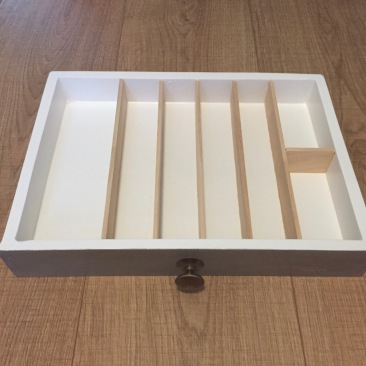 Whitework drawer