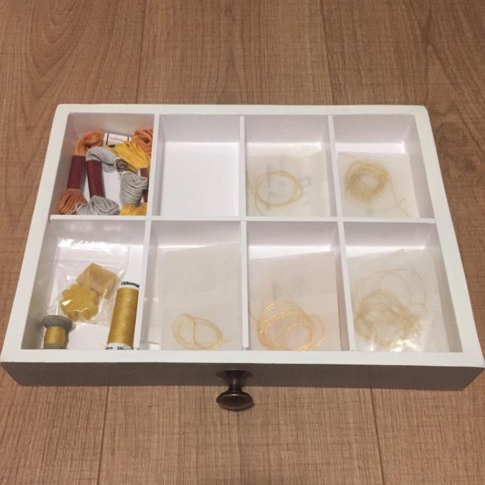 Goldwork drawer