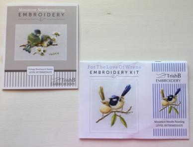 Trish Burr needlepoint kits
