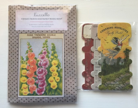 L'ucello needle keep and thread cards
