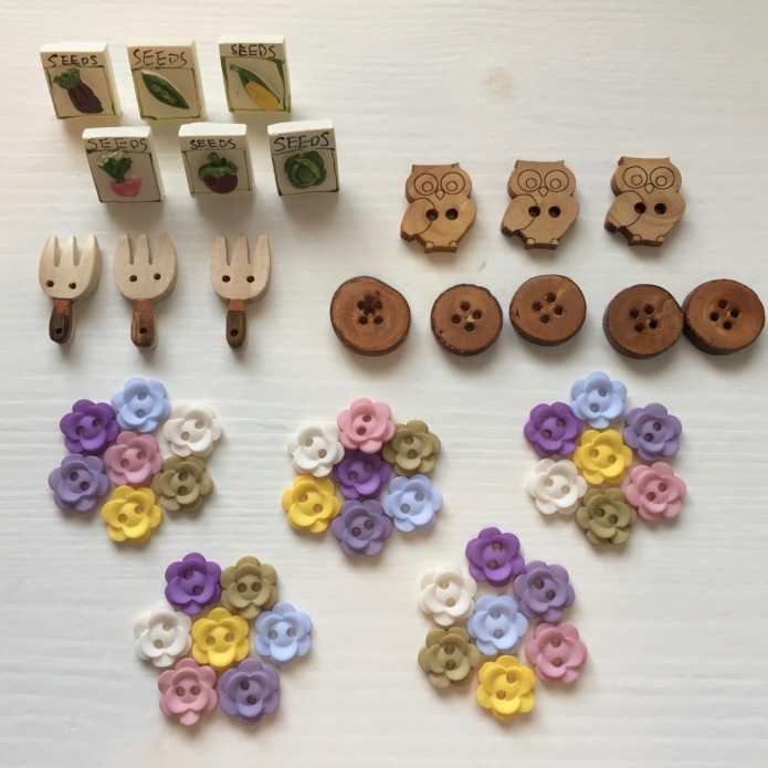 Buttons from 'All Buttons Great & Small'