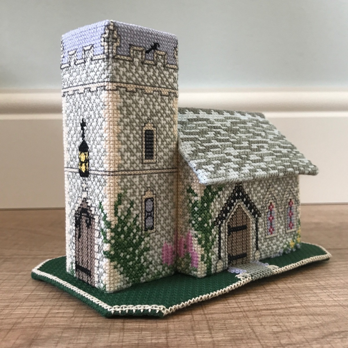 Cross Stitch Miniature Church
