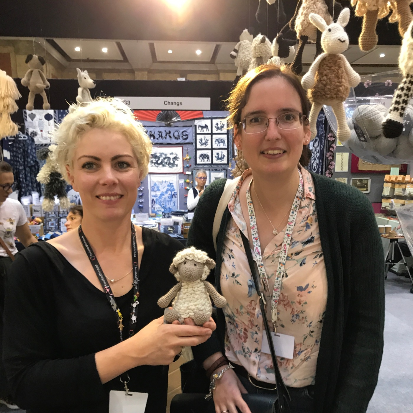 Knitting And Stitching Show 2017 October : Knitting & Stitching Show   The Stitching sheep