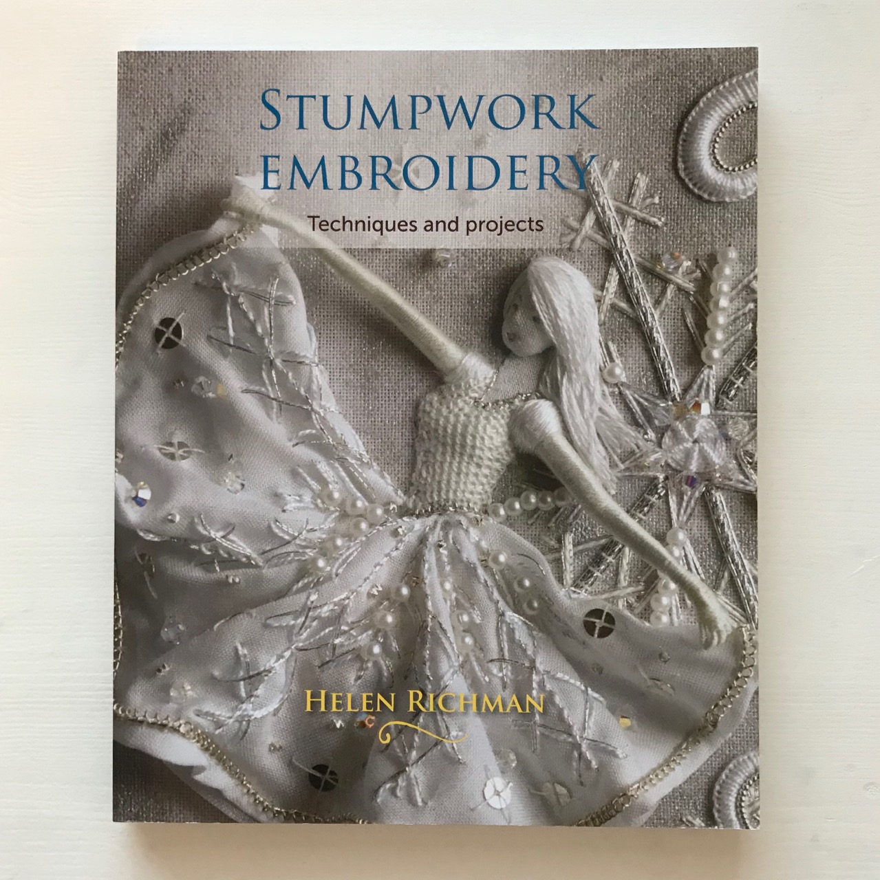 Helen Richmans Stumpwork Embroidery The Stitching Sheep