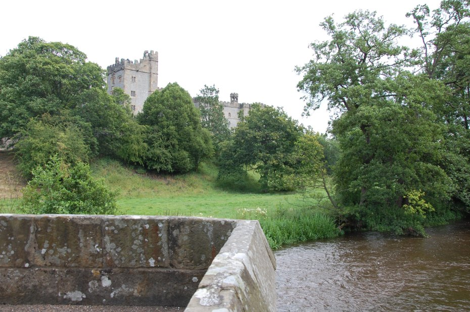 View of Haddon Hall from the river