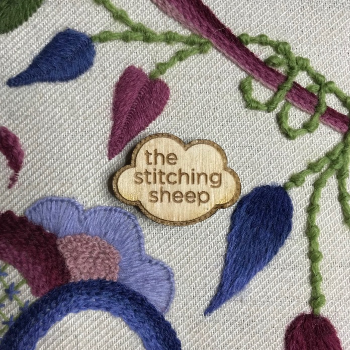 Needle minder in action