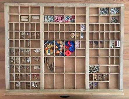 Button drawer