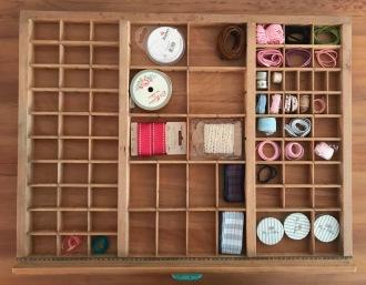 Ribbons drawer