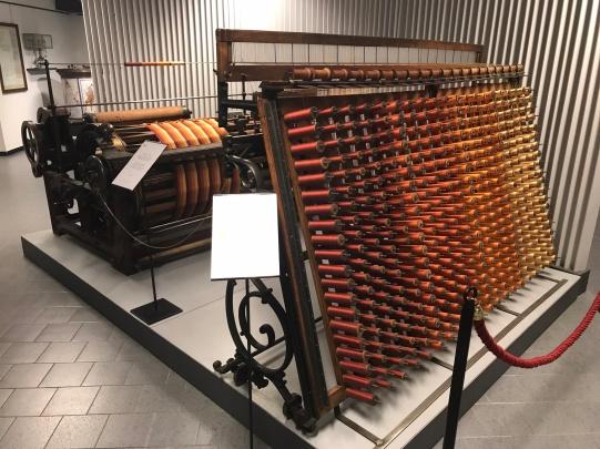 Benniger warping machine