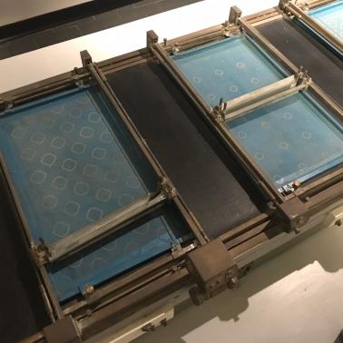 Screen printing model
