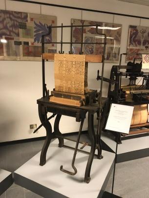 Card copier for Jacquard patterns