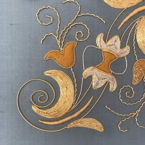 My RSN Certificate Goldwork has been assessed